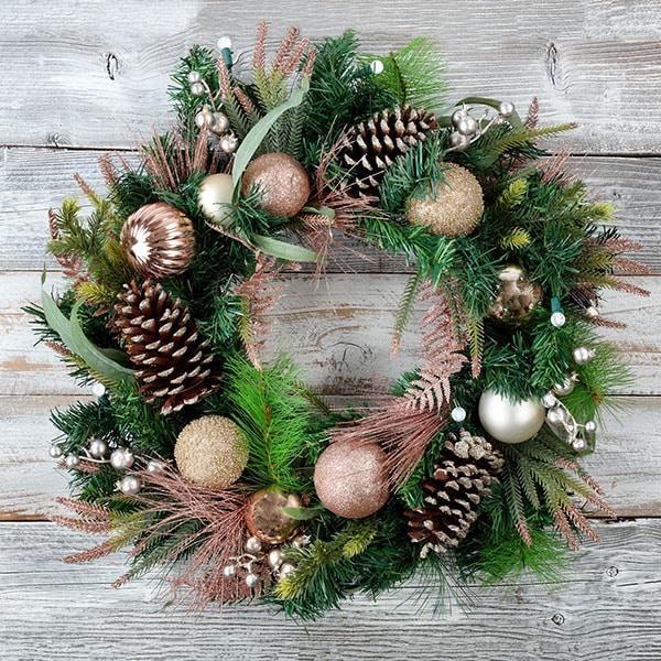 Holiday Wreath from Strader's Garden Center Ohio